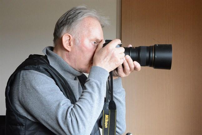 Fotografering blev en viktig sysselsättning för Tore Appel då han fick Parkinsons sjukdom för fjorton år sedan.
