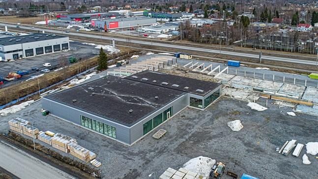 Arkivbild: Gamla Rukkafabriken i Karleby i april 2021.
