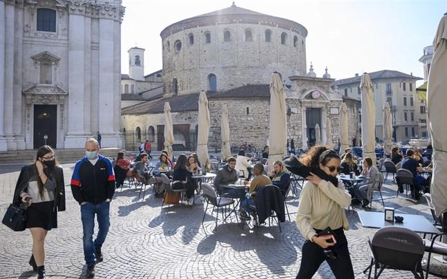 Många jobb försvann i Italien i fjol.