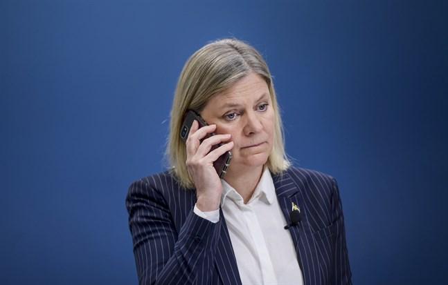 Finansminister och numera IMF-höjdaren Magdalena Anderssons (S) budskap till världsledarna: Nummer ett är vaccineringen. Arkivbild.