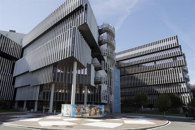 WFP:s högkvarter i Rom i Italien. Arkivbild.