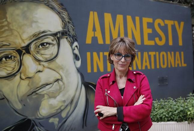 Amnesty Internationals generalsekreterare Agnès Callamard.