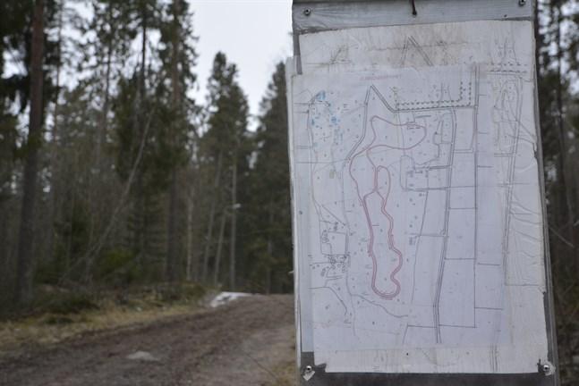 Närpes stad får 35 000 euro av staten för att sätta Öjskogsspåret i skick.