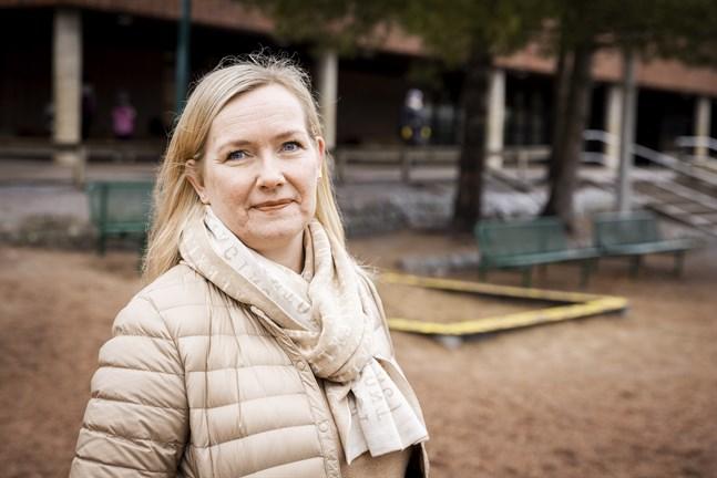 Petra Bengs är engagerad i hur det går för barnen i skolan.