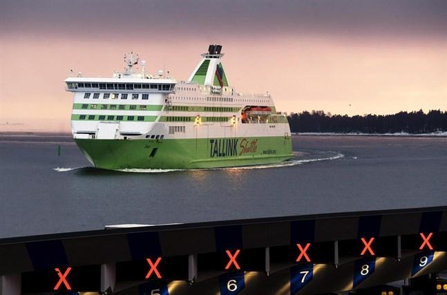 Tallink ser sin webbshop som ett tillägg till den vanliga passagerartrafiken.