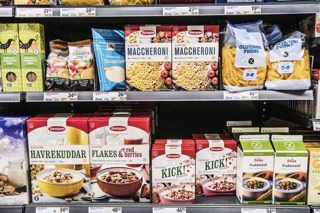 Alternativen för personer med celiaki är inte mindre nyttiga än produkter med gluten, visar en ny studie.
