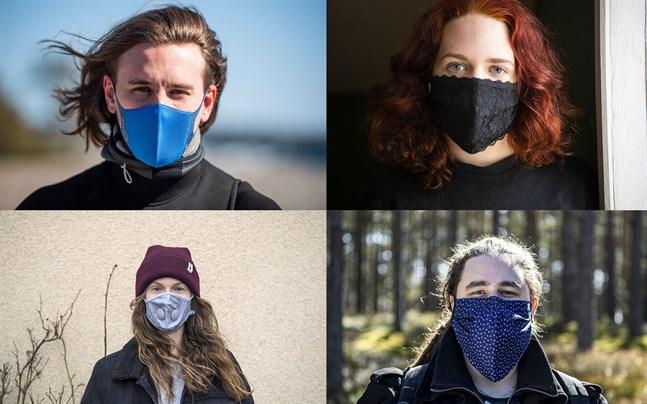 En mängd olika alternativa munskydd har dykt upp på marknaden, vissa vill ha snyggare varianter och andra vill kunna återanvända. Men endast CE-märkta engångsmunskydd rekommenderas.