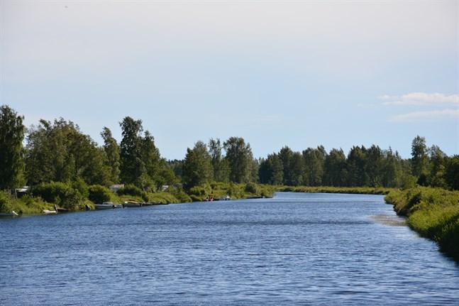 På ett nästan två kilometer långt avsnitt, från Aborrgrund i närheten av båthusen ner till åmynningen, ska muddringen ske. Nu har tillstånd beviljats.