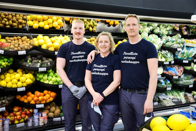 Toni, Lena och Tomi Nordin ser fram emot nya utmaningar.