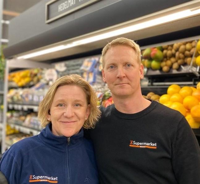 Len och Tomi Nordin tar över som köpmän för K-Citymarket.