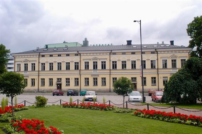 Geologicum vid Domkyrkotorget i Åbo.