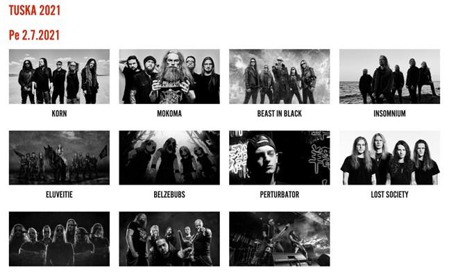 Årets metallfestival blir inte av.