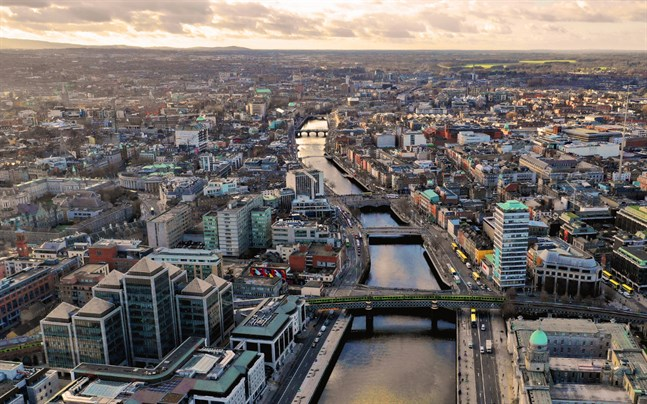 Projektet som förverkligas i södra Dublin förverkligas som en nyckelfärdig leverans.