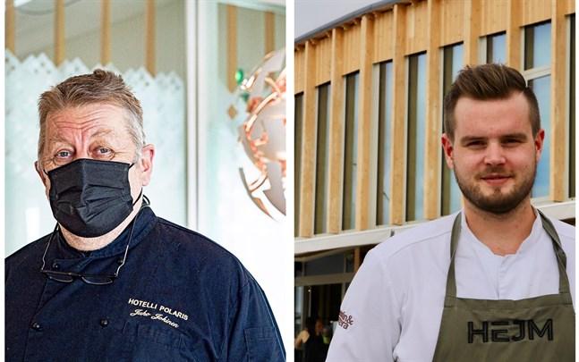 Juho Jokinen och Mattias Åhman delar åsikten att coronabegränsningarna är för hårda. – Vi kunde lika gärna ha stängt.