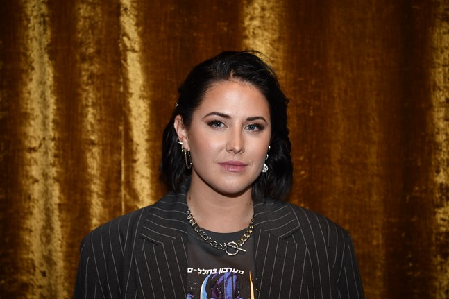 Molly Sandén uppträder på Oscars förgala. Arkivbild.