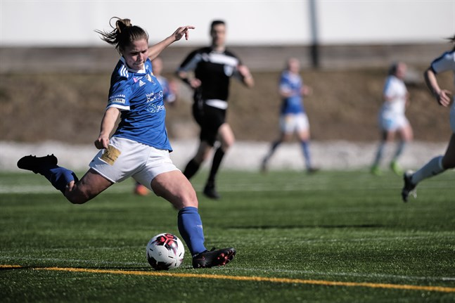 Fanny Forss har inte öppnat målkontot än, trots två spelade matcher.