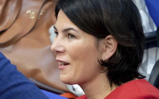 De grönas språkrör Annalena Baerbock har en chans att bli kansler i Tyskland.