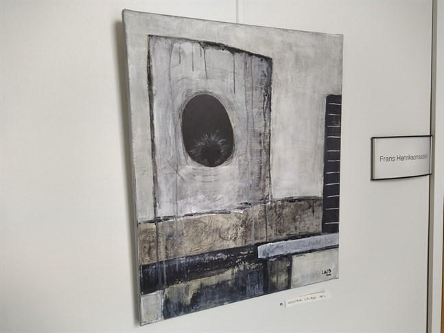 Industrial city bird heter den här målningen av Linda Österåker.