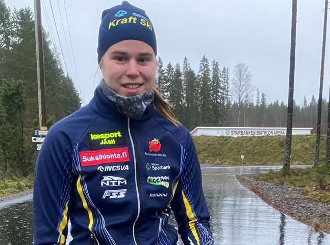 Frida Häggkvist slutade på en sjätte plats i söndagens final, men hon var ändå nöjd med sin insats.