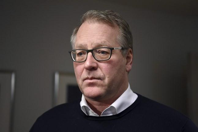 Pappersförbundets ordförande Petri Vanhala.