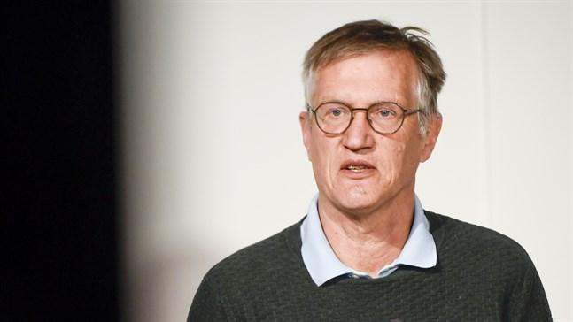 """""""Jag vill tydligt påpeka att vi fortfarande har ett allvarligt läge"""", säger statsepidemiolog Anders Tegnell. Arkivbild"""