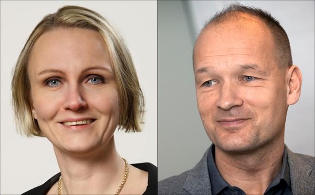 Linnéa Henriksson och Jan Saarela.
