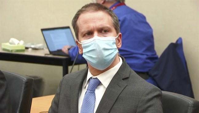 Den före detta polisen Derek Chauvin förklaras skyldig till dråp på George Floyd.