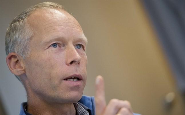 Johan Rockström är professor i miljövetenskap och chef för Potsdaminstitutet för klimatforskning i Berlin.