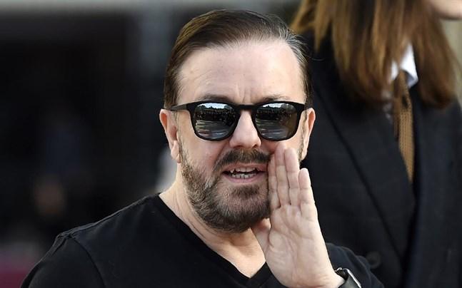 """Ricky Gervais hyllar serien """"Snabba cash"""" och kallar den briljant."""
