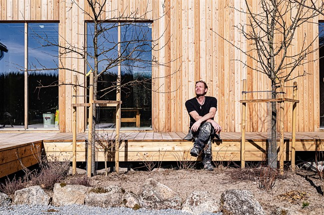 Robin Nyman gillar att bygga och är en utpräglad projektmänniska.