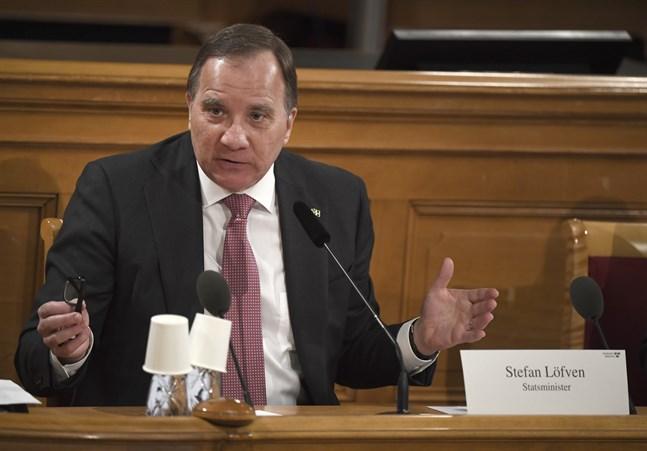 Sveriges statsminister Stefan Löfven (S) frågades ut i konstitutionsutskottet (KU) om regeringens agerande under coronapandemin.