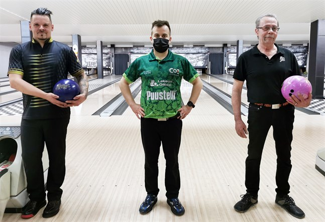 Daniel Granlund, Riku-Petteri Kivelä och Lasse Granlund.