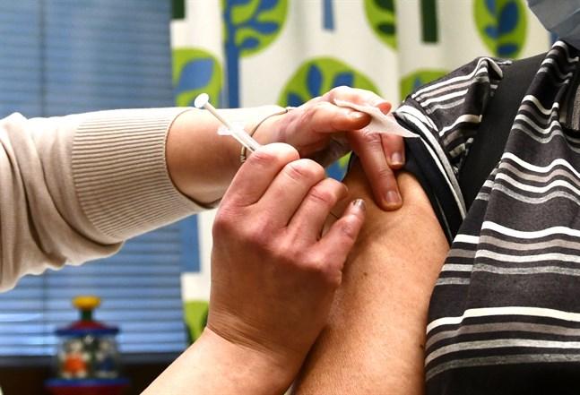 Walk in-vaccinering ordnas i Kronoby nästa vecka.