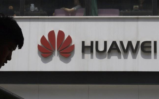 Försäljningsras för Huawei i första kvartalet 2021.