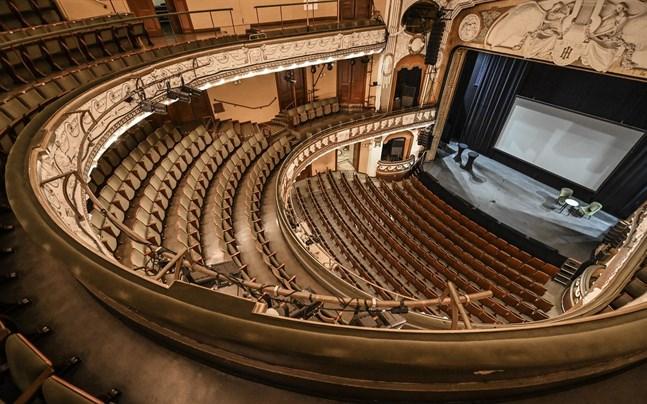 Oscarsteatern i Stockholm står tom. Hela Nordens kulturliv har drabbats hårt av pandemin.
