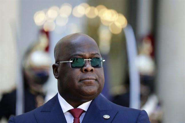 Kongo-Kinshasas president Félix Tshisekedi. Arkivbild.