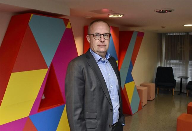 Jarkko Eloranta, ordförande för Finlands Fackförbunds Centralorganisation FFC.