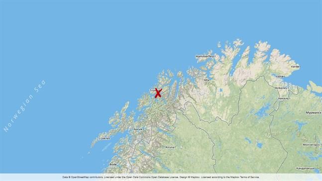 Lyngen i Norge.