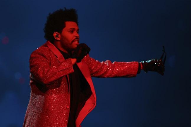The Weeknd fick inte en enda nominering vid senaste Grammygalan. Arkivbild.
