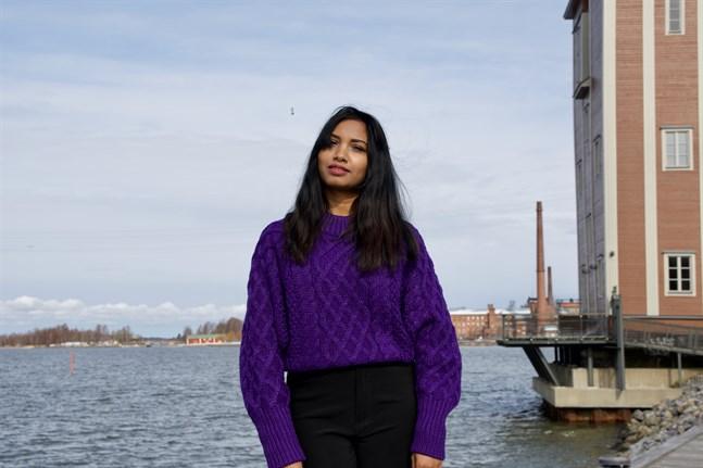 Sadaka Tamanna Rumi hoppas att programmet Vaasa International Talents kommer att hjälpa henne att få in en fot i arbetslivet.