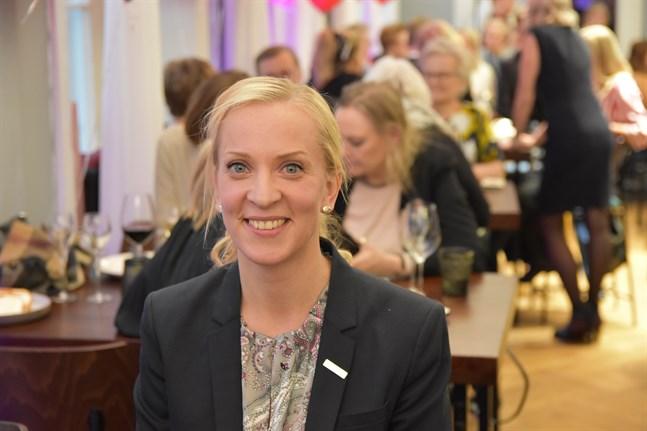 Sandra Bergqvist vill fortsätta som en av tre vice ordförande för SFP. Arkivbild.