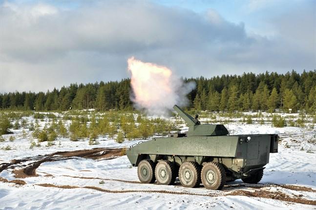 Patria tillverkar pansarfordon och annat försvarsmateriel.