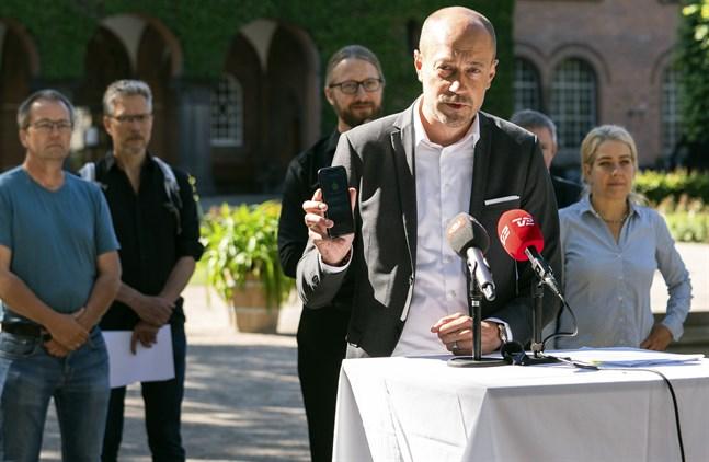 Danmarks hälsominister Magnus Heunicke (S). Arkivbild.
