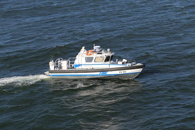 Gränsbevakningsväsendets patrullbåt PV 183 sjönk utanför Lovisa den 20 juni 2020. Bilden har tagits tidigare.