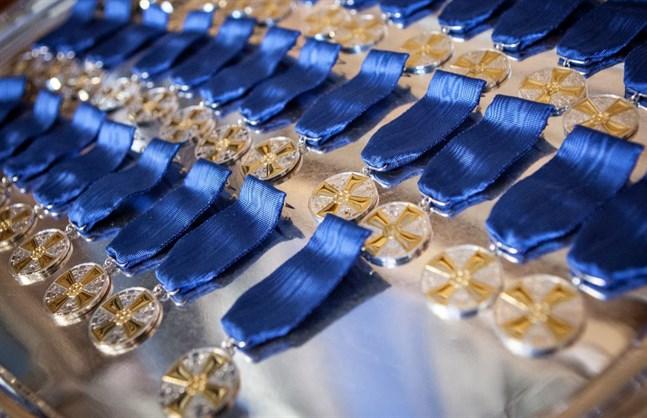 Finlands Vita Ros ordens medalj av 1 klass med guldkors förlänas 29 mammor i år.