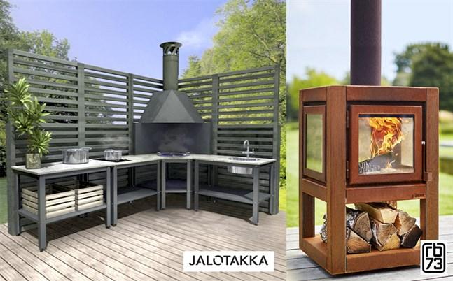 Jalotakka utekök erbjuder dig maximal njutning i sommarköket. En riktig mingeloas för kommande trädgårdsfester. Trendiga Quaruda L utespisen från rb73 blir kvällens samlingspunkt.