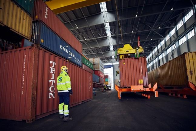 Rauanheimo sköter logistikkedjan för bland annat Terrafame.