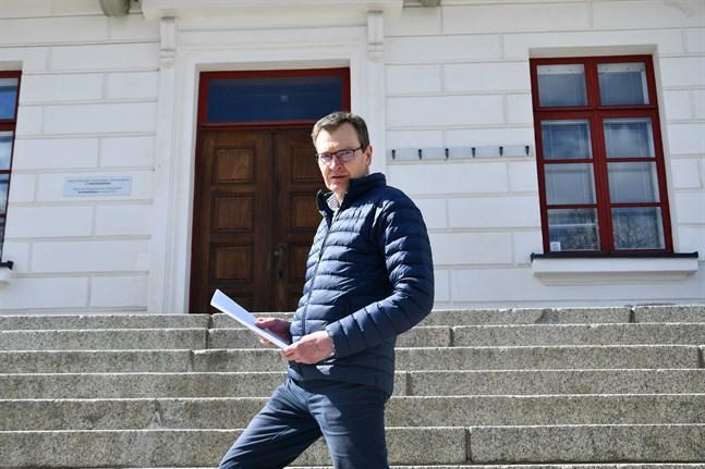 Valledare Markku Helkiö gör sitt tredje kommunalval för Kristdemokraterna som hoppas på två invalda.