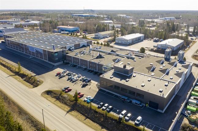 Vilpe har satsat kraftigt på fabriks- och kontorshelheten på Fågelberget i Korsholm.