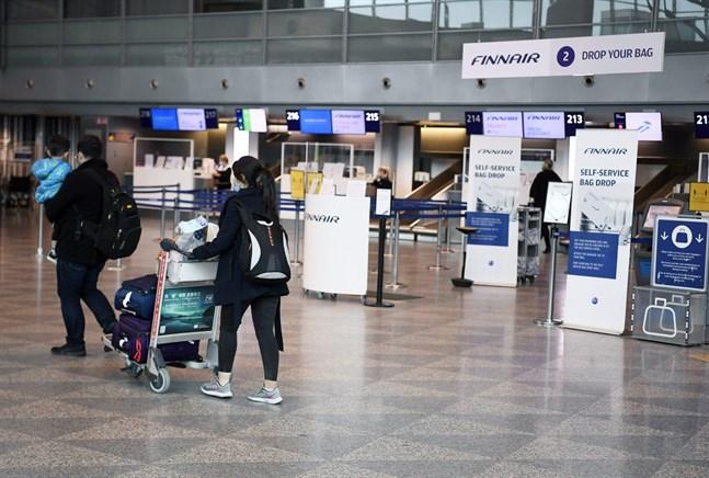 Alla som kommer till landet via Helsingfors-Vanda behöver inte testa sig. För de som har ett negativt intyg med sig är testet frivilligt.